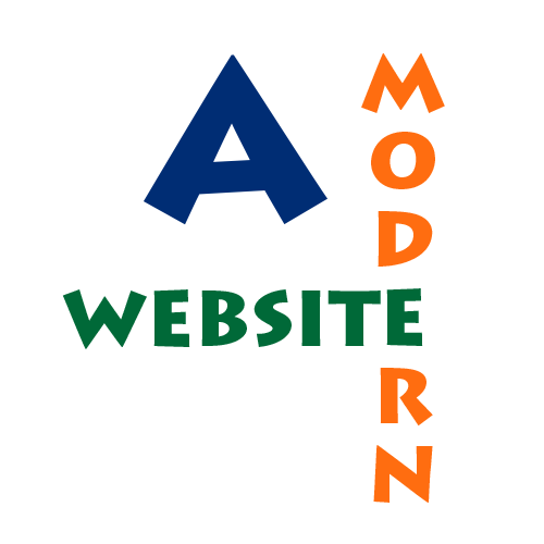 A Modern Website logo